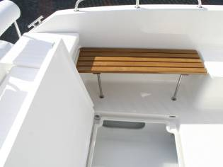 Okiboats 585 Barracuda-Cabin