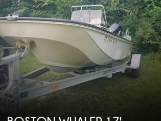 Boston Whaler Montauk 17