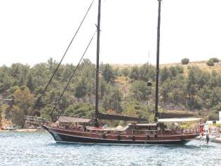 Gulet Laminated 24 m Mahogany