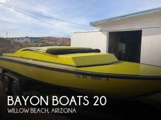 Bayon Boats 20' Day Cruiser