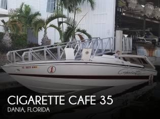 Cigarette 35 Cafe Racer