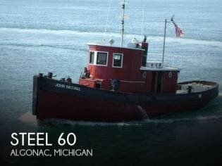 Riveted Steel Tug