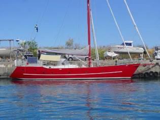 Custom Steel 52ft Cutter Rigged Yacht