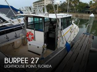 Burpee 27 Offshore Pilothouse