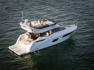 Sea Ray 400 Sundancer Fly