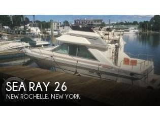 Sea Ray 265 Sedan Bridge