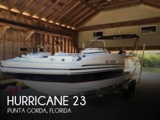 Hurricane 231 Sun Deck Sport