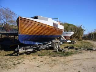 barco madera tingladillo