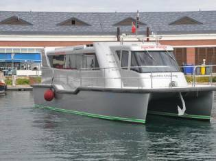 Custom-Craft Hybrid Catamaran 42