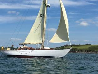 Custom Laurent-Giles 42 Sloop