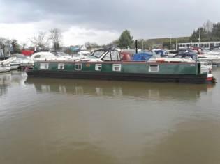 Narrowboat 65' Semi - Traditional Stern