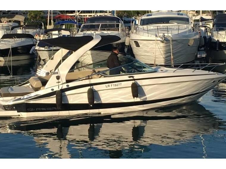 Regal 2550 cuddy cabine en alpes mar timos embarcaciones for Cabine del fiume bandera