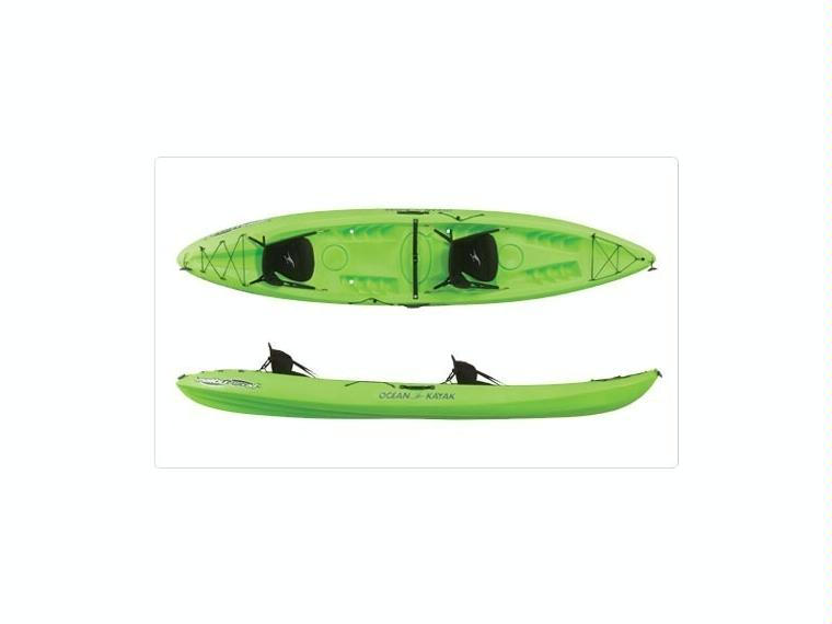 Kayak Autovaciable Ocean Malibú