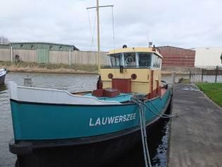 Sleepboot Lauwerszee Sold/Verkocht