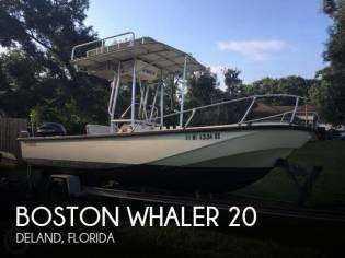 Boston Whaler Outrage V-20