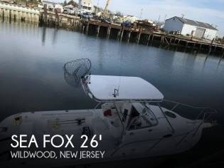 Sea Fox 257 Walkaround