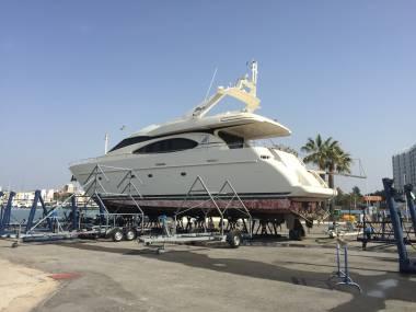Azimut 70 sea jet