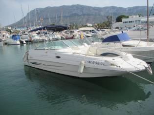 Rinker 243 siesta deckboat