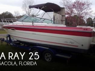 Sea Ray 250 Cuddy Fisherman