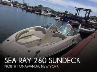Sea Ray 260 Sundeck