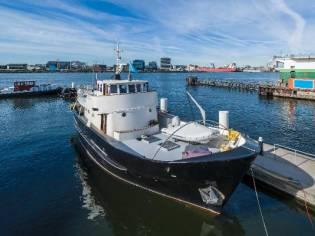 Classic Dutch Steel Motor Yacht