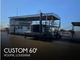 Custom 60' Houseboat