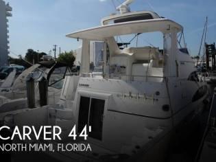 Carver 444 Cockpit MY