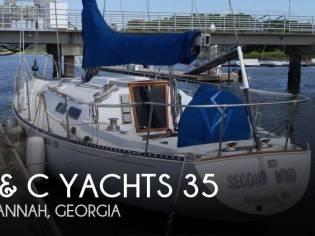C & C Yachts 35 Mark II