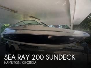 Sea Ray 200 Sundeck