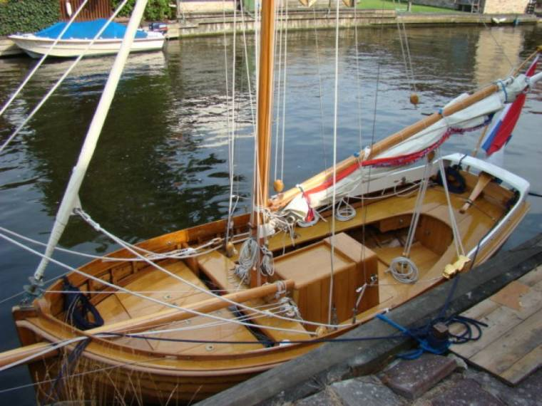 Kerstholtsloep Open Zeilboot