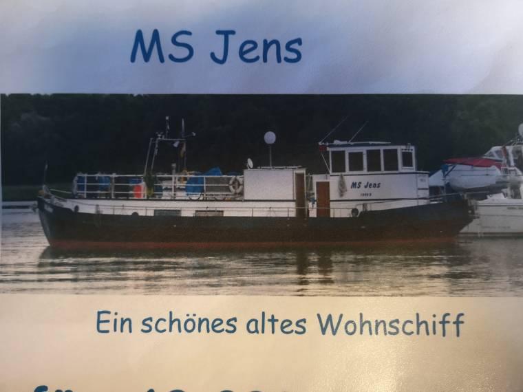 19 m Wohnschiff Jens(Video)(TB)