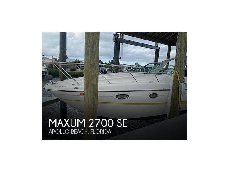 Maxum 2700 SE