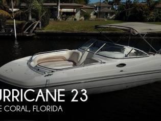 Hurricane 237 Sundeck