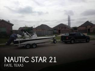 Nautic Star 214 XTS