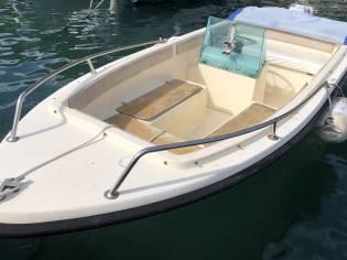 Motoscafo Conero delfino red open 4.50