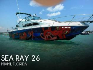 Sea Ray 26 Sundancer