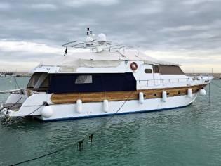 Custom Cantiere Navale Azzurro Navetta Azzurro 74