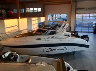Saver 750 Cabin -Ausstellungsboot
