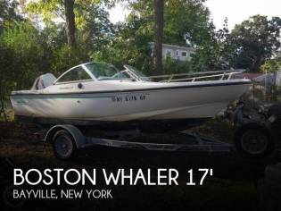 Boston Whaler Dauntless 17 Dual Console