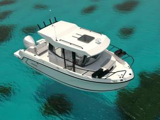 Quicksilver Captur 705 Pilothouse