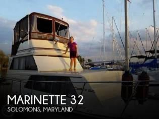 Marinette 32 Sedan Bridge