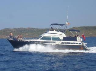 Aquastar 47ft motor yacht