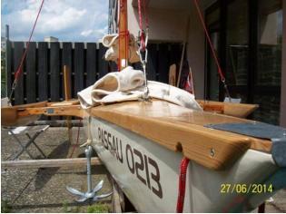 self construction sail trimaran