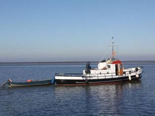 Marine Sleepboot Motorschip