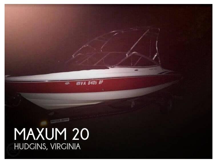 Maxum 2000 SR3