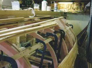 Lancia in legno NUOVA anno 2019 da motorizzare