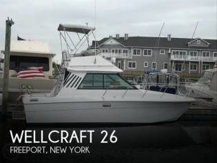 Wellcraft Sedan Cruiser 260