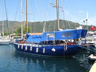 Alan Pape Steel Ketch