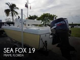 Sea Fox 197 Center Console