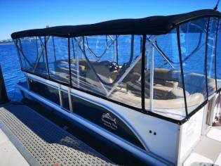 Commercial Pontoon Boat